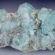 Brilliant aquamarine
