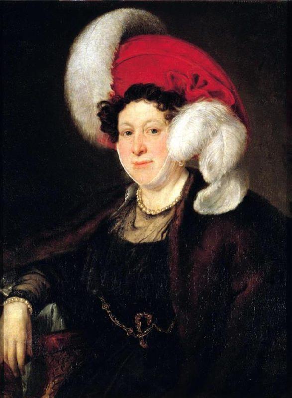 Countess Natalia Alexandrovna Zubova. 1834
