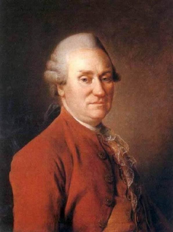 Director of the choir chapel Mark Fedorovich Poltoratsky, 1780