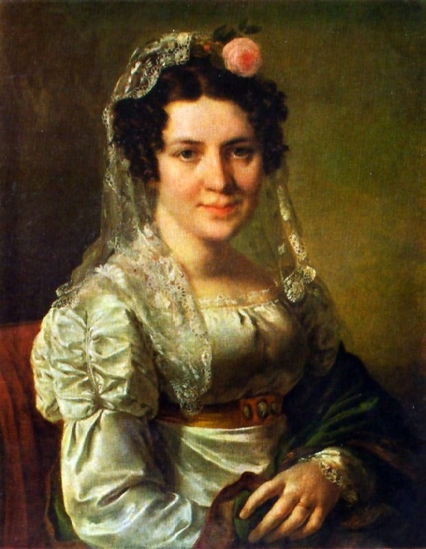 E.D. Shchepkina. 1826
