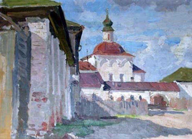 Florishchinsky monastery. 1947