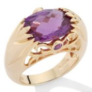 Great ring with alexandrite