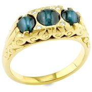 Interesting ring with alexandrite