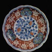 Magnificent Dish. Hizen kilns. 18th century. Porcelain