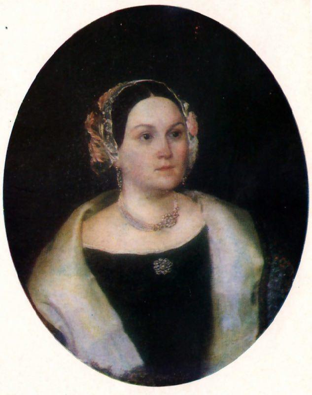Portrait of a Woman. 1830s