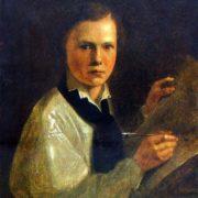 Portrait of the artist's son