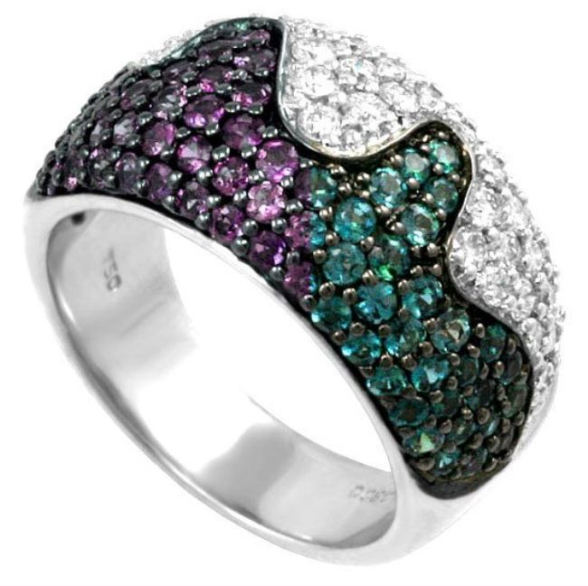 Ring with alexandrite