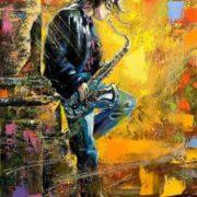 Alexander Khodyukov. Saxophonist