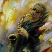 G. Kiseleva. Saxophonist