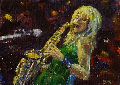 Mindi Abair. Sax player