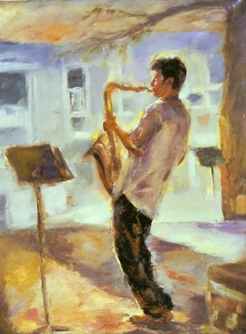 Riki Nelson. Sax in the Park