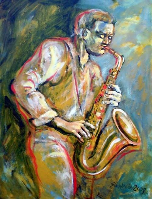 Sima Levin. Jazz, saxophone and passion. 2008