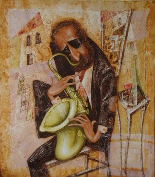 Stanislav Topchiy. Saxophonist