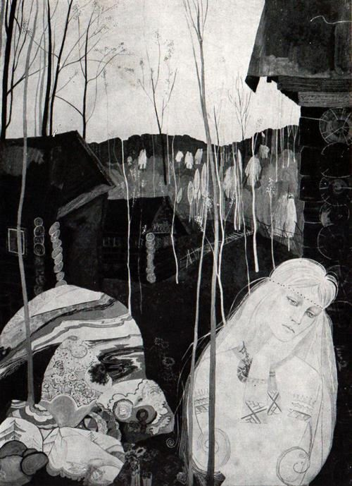 Aino. From the series Kalevala 1962
