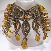 Awesome amber necklace