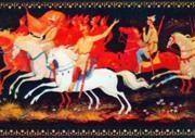B. I. Kiselev. Red horsemen. 1971