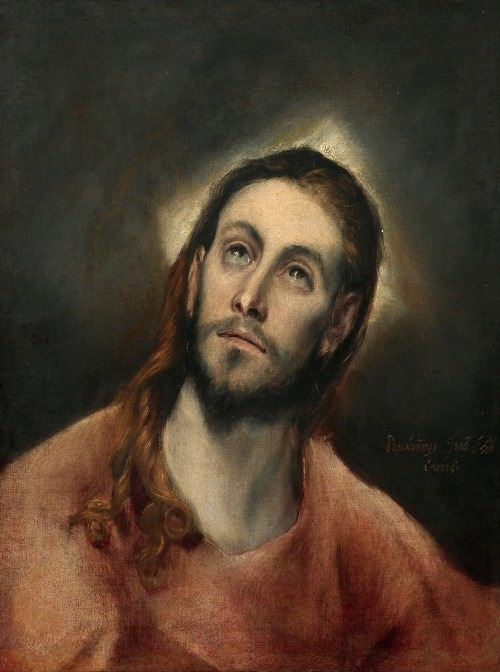 Christ with a square halo, 1595