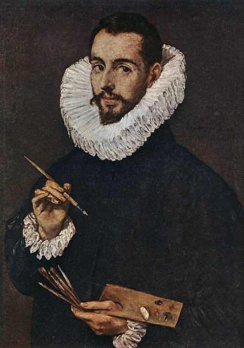 Portrait of the artist Jorge Manuel
