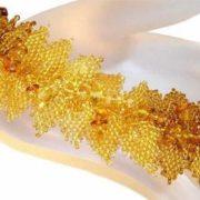 Pretty amber bracelet
