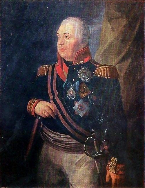 R. M. Volkov. Portrait of M. I. Kutuzov