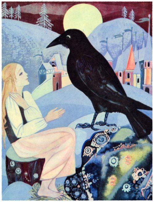 Raven and Gerda