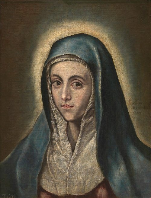 The Virgin Mary, 1590s, Strasbourg