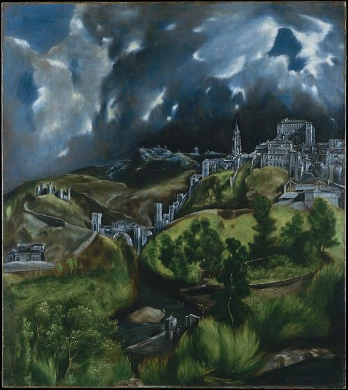 View of Toledo, 1597-99