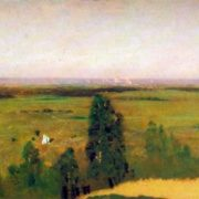 A view of Moscow from the Vorobyovy Gory. 1882