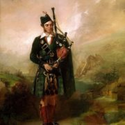 Alexander Johnston Angus Mackay. Piper to Queen Victoria. 1840