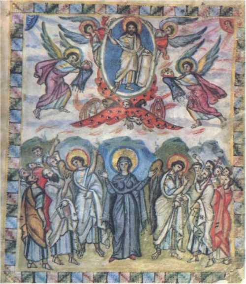 Ascension. 586, Florence, Laurentian Library