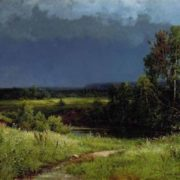 Before the Thunderstorm, 1884