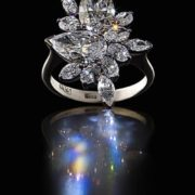 Charming diamond ring