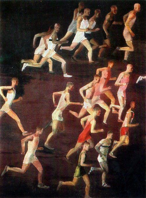 Cross country running, 1932