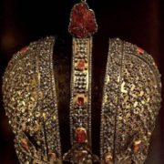 Crown of Russian Empress Anna Ioannovna, 1730-1731