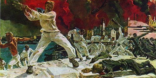 Defense of Sevastopol. 1942