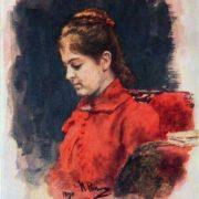 E.V. Lavrova. 1890