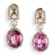 Earrings with tourmalines and diamonds. Frederick Zaavi Collection