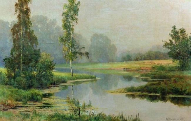 Foggy morning, 1897