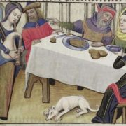 From a late 15th century French copy of the Romance of the Rose
