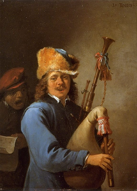 Hearing David Teniers c. 1640