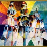 Ivan the Great belltower. 1915