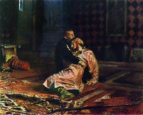 Ivan the Terrible and His Son, Ivan