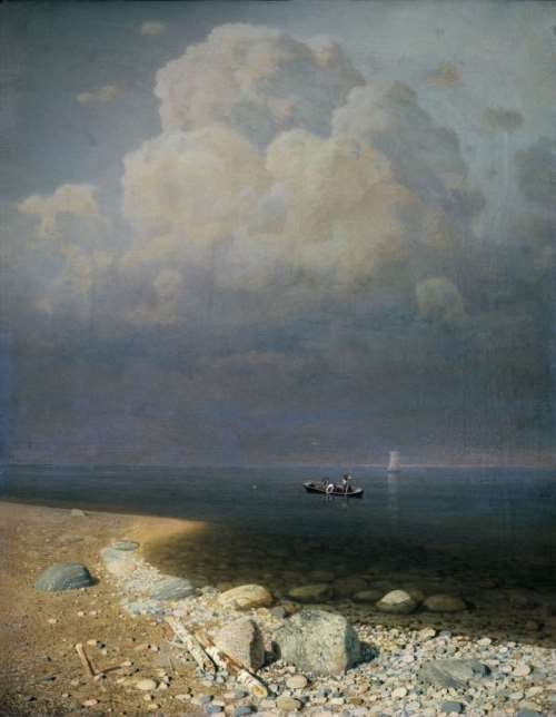 Ladoga Lake, 1872
