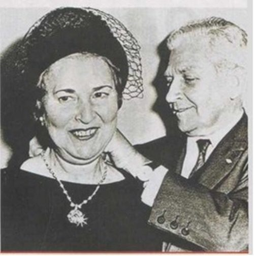Levinson and his wife before selling the Idol's Eye diamond