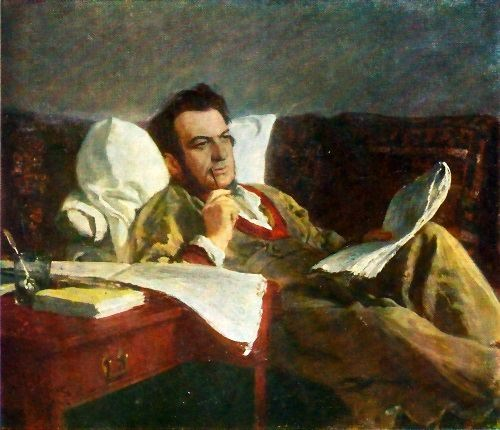 M.I. Glinka is composing the opera Ruslan and Lyudmila. 1887