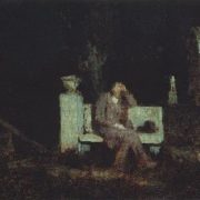 Moonlight night. 1876-1890