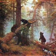 Morning in the Pine Forest. 1889