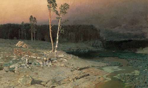 On the island of Valaam, 1873