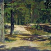 Pine forest, 1889