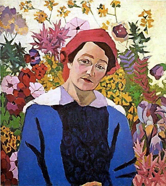 Portrait of M.P. Lentulova